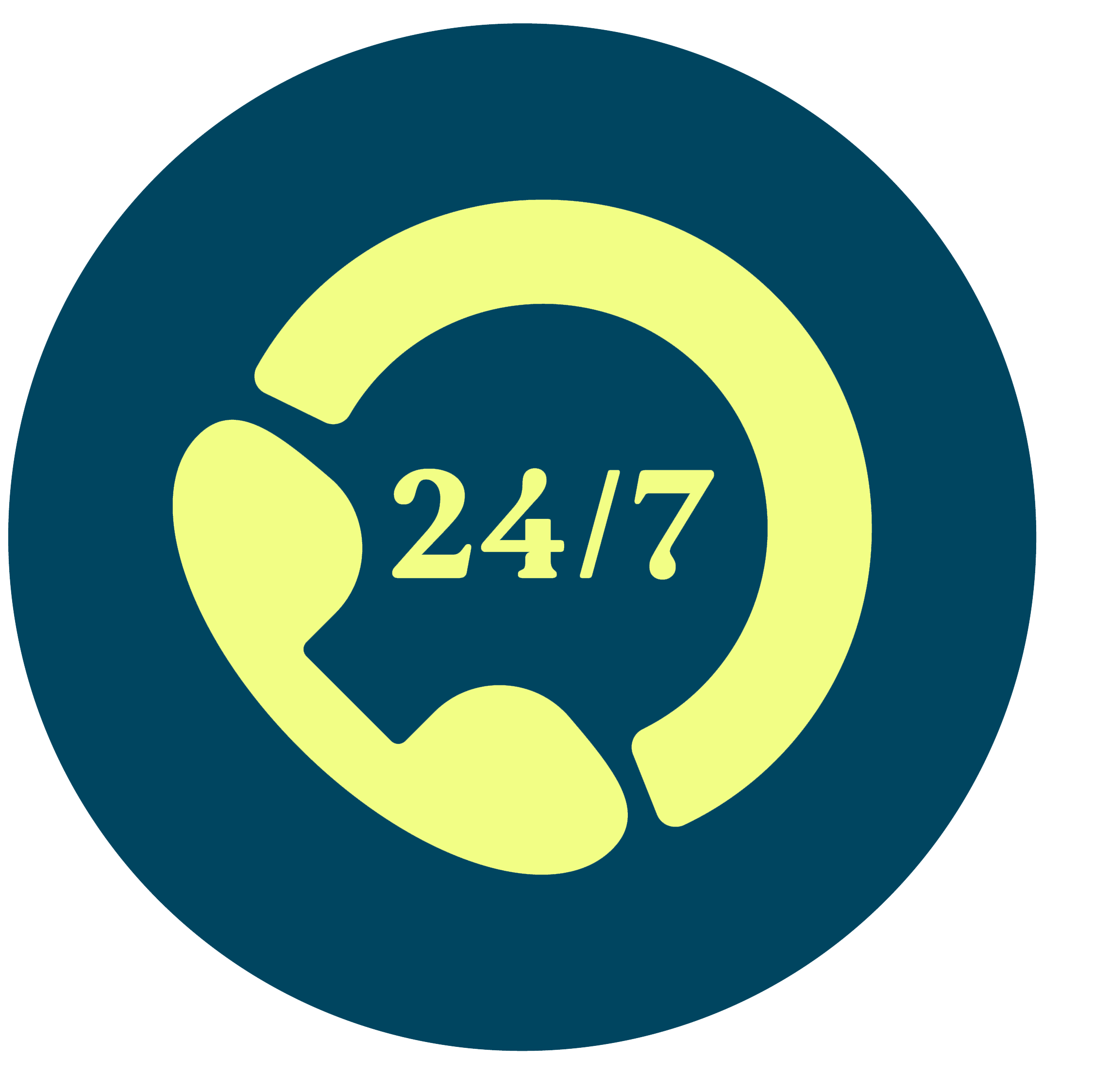 RV Icon 247Support Yellow Fill