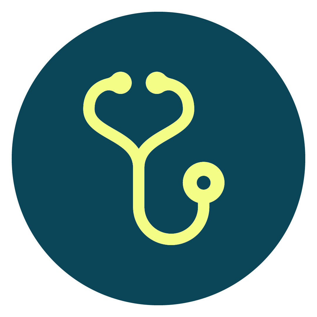 Thriveliving Icon Blue 27Doctor Fill