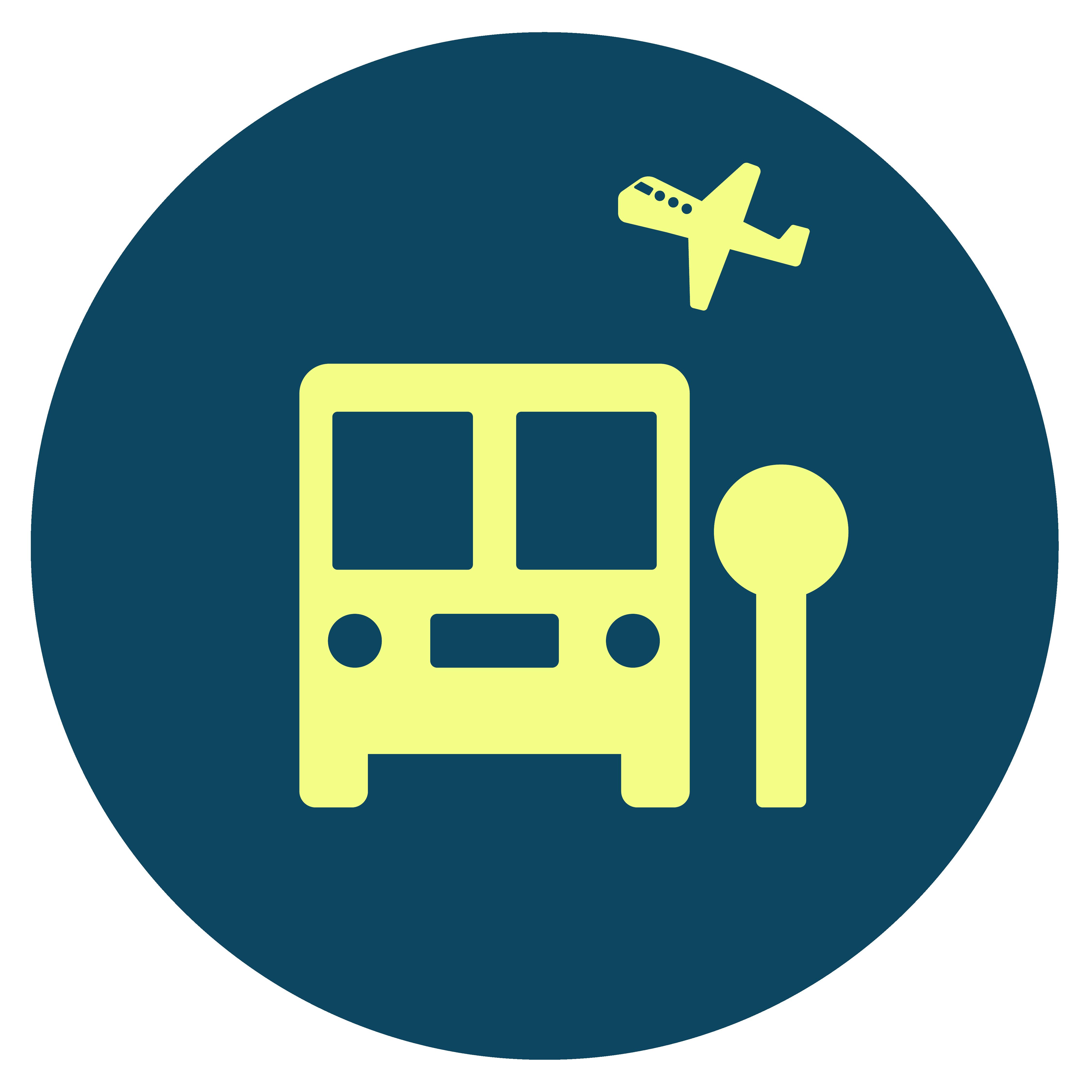 RV Icon Travel Yellow Fill