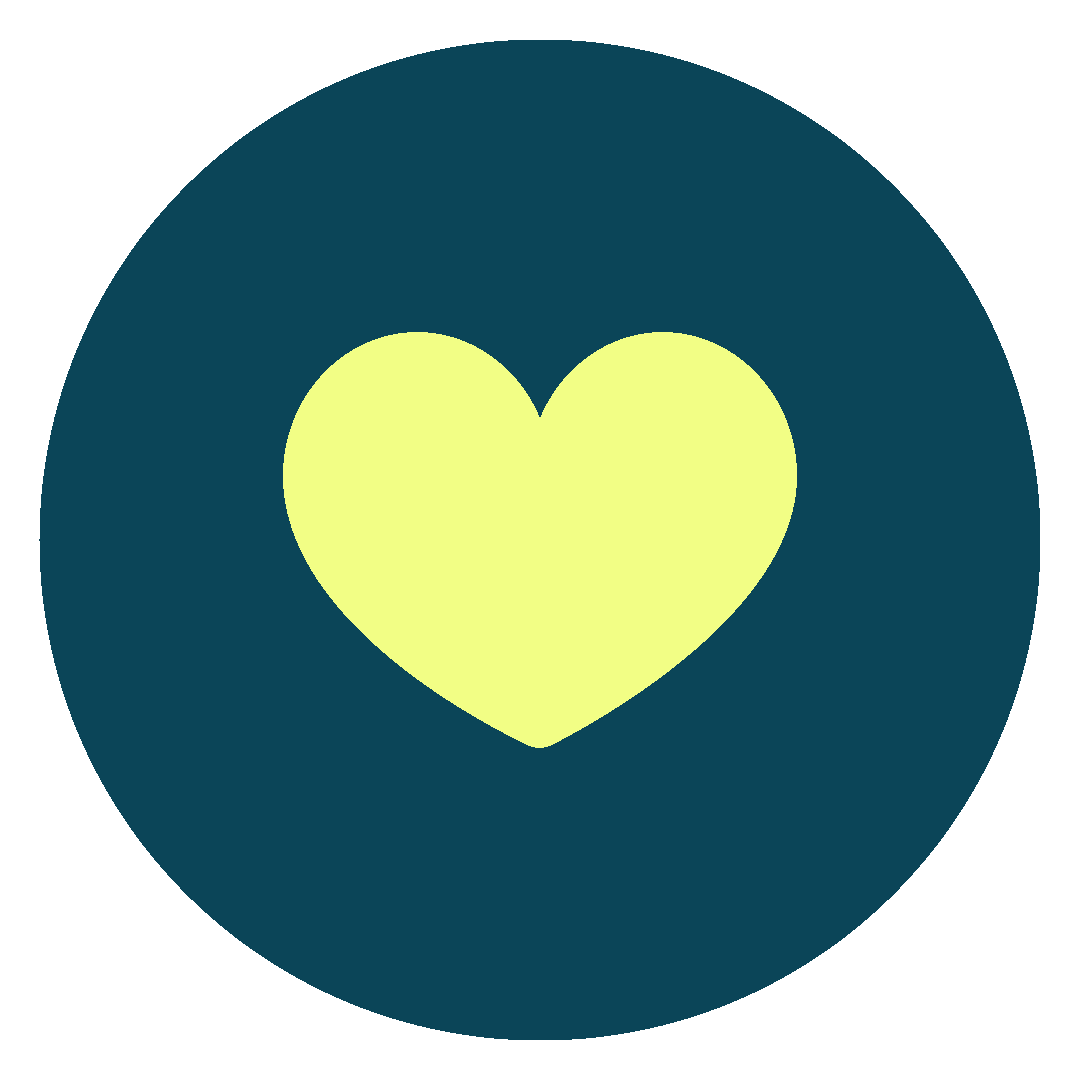 Thriveliving Icon Blue 7Heart Fill